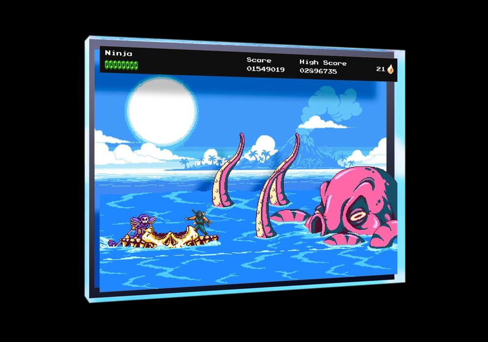 The Messenger Picnic Panic Desktop Art - $39.00 USD