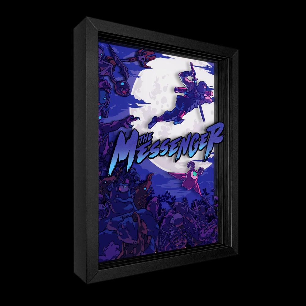 The Messenger Shadowbox Art - $129.00 USD